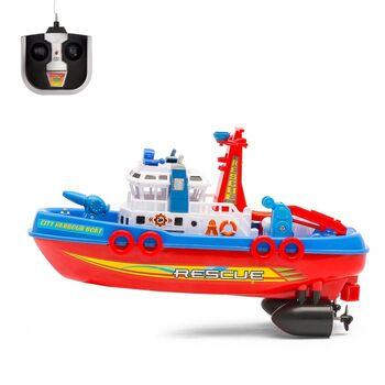 Катер радиоуправляемый Пожарная охрана Fire Boat