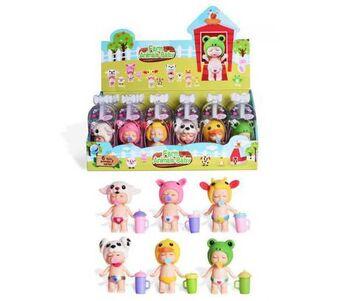 Пупс-куколка в индивидуальной капсуле, серия Ферма, 6 видов в ассортименте,