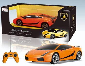Машина Rastar 26300 Lamboighini Superleggera 1:24, цвет оранжевый