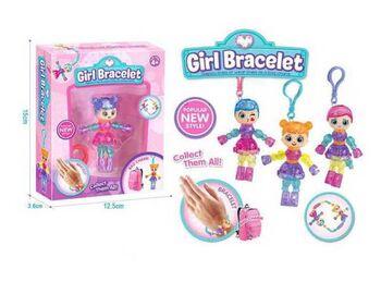 Детская бижутерия Браслеты волшебные Girl Bracelet , 12 см в ассортименте