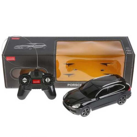 Машина Rastar 46100 Porsche Cayenne Turbo 1:24 Цвет Черный 27MHZ
