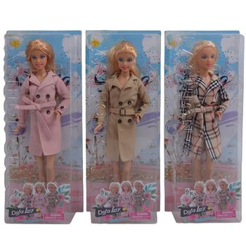 Кукла Defa. Lucy Весенняя мода, 3 вида в ассортименте
