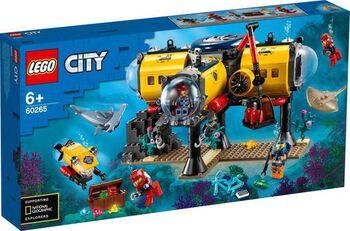 Конструктор LEGO CITY Oceans Океан: исследовательская база
