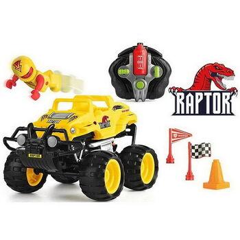 Машинка р/у разбивающийся внедорожник Monster Smash Ups, Raptor