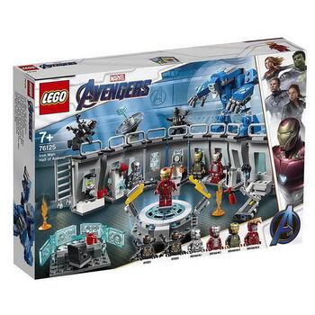 Конструктор LEGO SUPER HEROES Лаборатория Железного человека