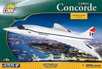 Конструктор COBI Самолет Concorde COBI-1917