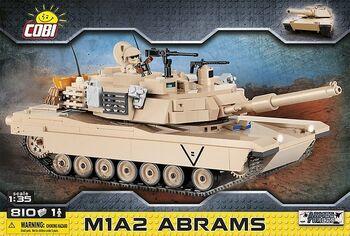 Конструктор COBI Танк M1A2 Abrams COBI-2619