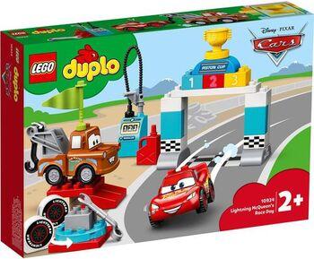 Конструктор LEGO DUPLO Cars TM Гонки Молнии МакКуина