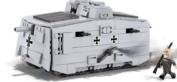Пластиковый конструктор COBI 575   PCS   HC   GREAT   WAR   /2982/   STURMPANZERWAGEN   A7V