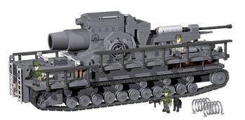 Пластиковый конструктор танк COBI 1500  PCS  HISTORICAL COLLECTION /2530/  60CM  KARL-GERAT  040