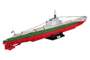 Конструктор подводная лодка COBI 1240  PCS  HC  WWII  /4808/  ORP  ORZEŁ