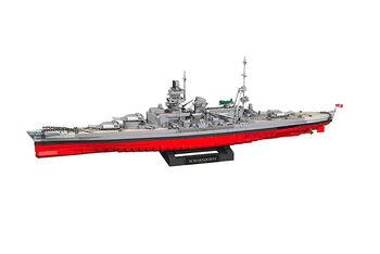 Пластиковый конструктор корабль COBI 2472  PCS  HC  WWII  /4818/  BATTLESHIP  SCHARNHORST