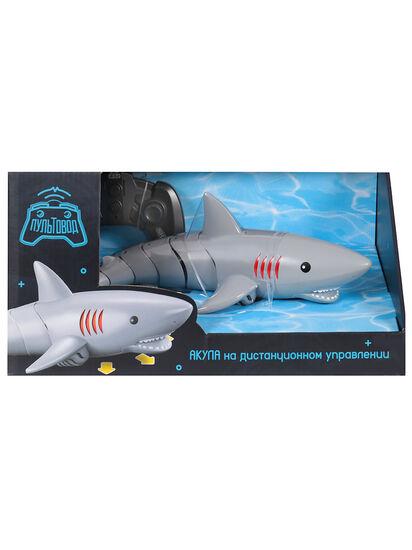 Радиоуправляемый робот Акула плавает в воде - ZYB-B3540