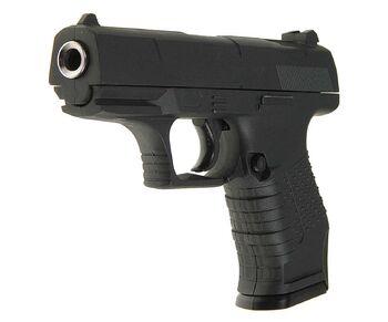 Пистолет металлический Walther P99 (пневматика, 14 см) - G.19