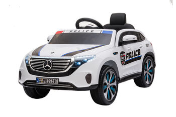 Электромобиль Mercedes Benz Police EQC 400 4MATIC - HL378-WHITE