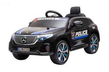 Электромобиль Mercedes Benz Police EQC 400 4MATIC - HL378-BLACK