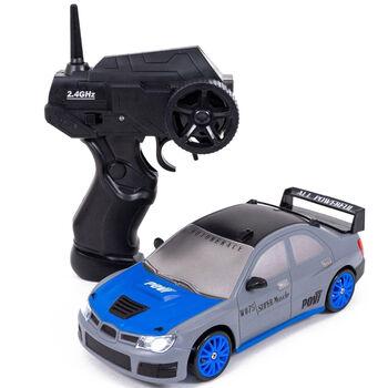 Радиоуправляемая машина для дрифта Subaru Impreza WRX (19 см, 15 км/ч, сменные колеса, фишки) - SC24A06
