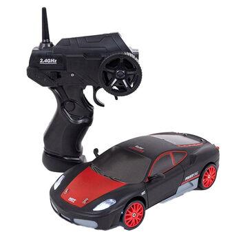 Радиоуправляемая машина для дрифта Ferrari F430 (19 см, 15 км/ч, сменные колеса, фишки) - SC24A03