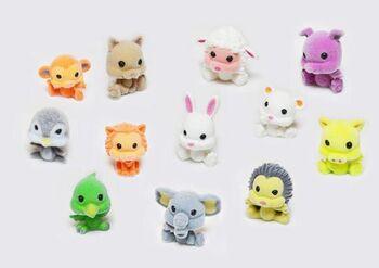 Фигурка Mini toy. Зверушка (12 видов в коллекции) 2,5*3*2 см