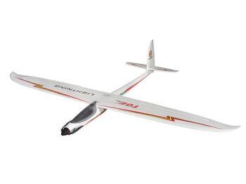 Радиоуправляемый планер Top RC Lightning V1 (Propeller Power System) 1500мм 2.4G 4-ch LiPo RTF
