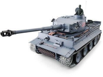 Радиоуправляемый танк Heng Long Tiger I UpgradeA Version V6.0  2.4G 1/16 RTR