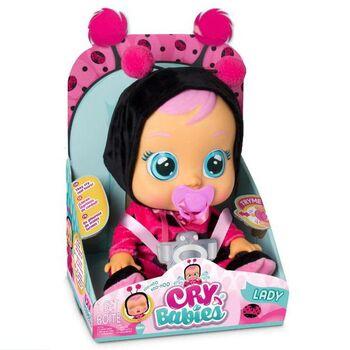 Кукла IMC Toys Cry Babies Плачущий младенец Lady, 31 см