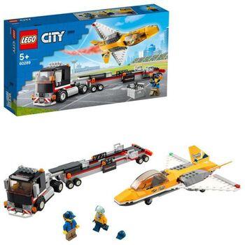 Конструктор LEGO CITY Great Vehicles Транспортировка самолёта на авиашоу