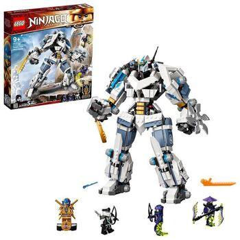 Конструктор LEGO Ninjago Битва с роботом Зейна