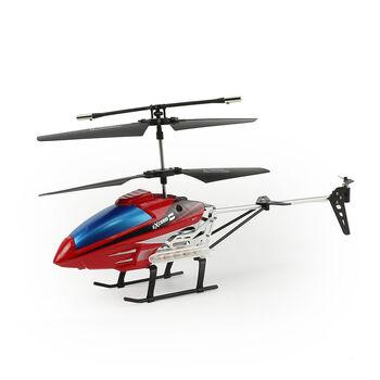 Вертолет на радиоуправлении E3308 Red 27см с светодиодной подсветкой