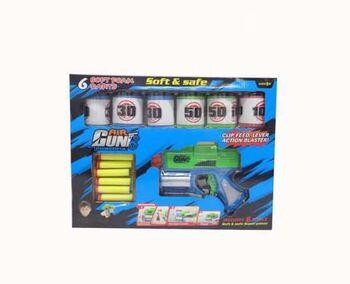 Набор игровой Бластер с аксессуарами и мягкими пулями