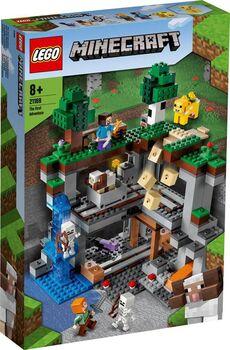 Конструктор LEGO Minecraft Первое приключение