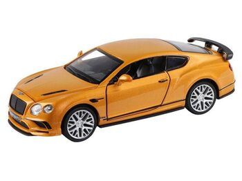 "Машина ""АВТОПАНОРАМА"" Bentley Continental Supersports, оранжевый, 1/32, в/к 17,5*12,5*6,5 см"