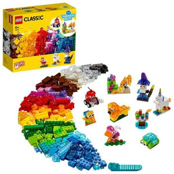 Конструктор LEGO CLASSIC Прозрачные кубики