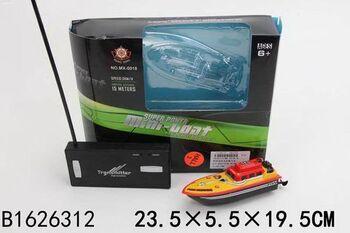 Катер на радиоуправлении Рыжий кот Ультра скорость № 4 23,5*19,5 см