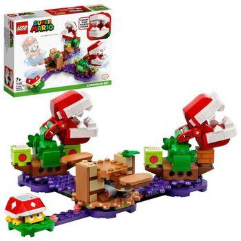Конструктор LEGO Super Mario Дополнительный набор «Загадочное испытание растения-пираньи»