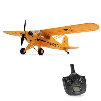 Радиоуправляемый самолет XK A160 J3 SKYLARK RC RTF 2.4G - XK-A160