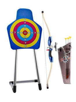 Набор стрельба по мишени Спортивные игры (лук со стрелами и мишель) - 9922-21
