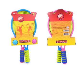Теннис, в комплекте 2 ракетки и 2 мяча