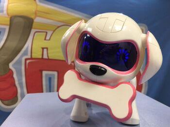 Интерактивная собака робот Chappi знает 20 фраз (розовая)