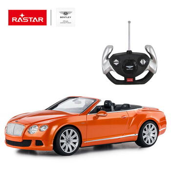 Радиоуправляемая машина Rastar 49900 Bentley Continetal GT 1:12 Цвет Оранжевый