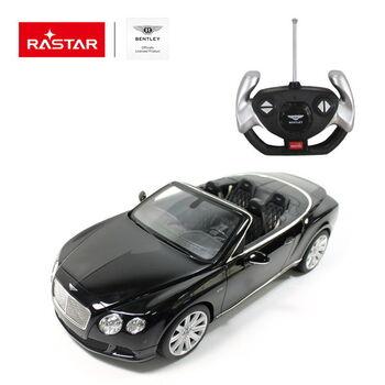 Радиоуправляемая машина Rastar 49900 Bentley Continetal GT 1:12 Цвет Черный