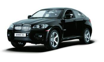 Радиоуправляемая машина Rastar 31400 BMW X6 1:14, цвет чёрный 27MHZ