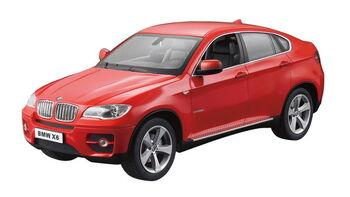 Радиоуправляемая машина Rastar 31400 BMW X6 1:14, цвет красный 40MHZ