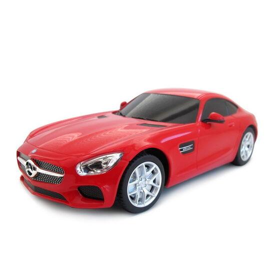 Машина на пульте RASTAR 72100 Mercedes AMG GT3 1:24, цвет красный 40MHZ