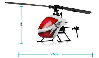Радиоуправляемый вертолет WLToys V966 Flybarless 2.4GHz 3D/6G