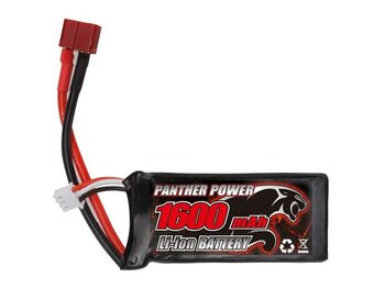 Аккумулятор Li-Po 1600mAh, 7,4V, T-plug для Remo Hobby 1/16