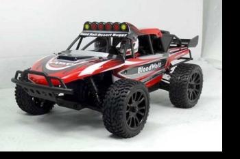 Радиоуправляемая багги HSP Bloodwolt 4WD 1:14 (красная)
