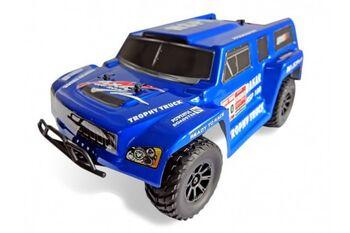 Радиоуправляемый внедорожник HSP 4WD EP Off-Road Trophy Truck 1:18 4WD синий