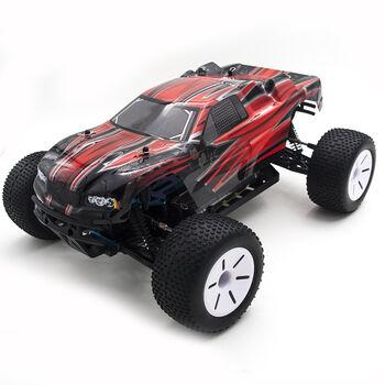 Радиоуправляемая трагги HSP Tribeshead 94124N-12426 4WD 1:10 2.4G черно-красный