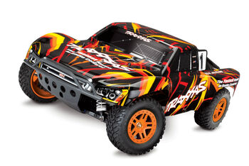 Радиоуправляемая машина Traxxas Slash 4x4 1:10 Оранжевый